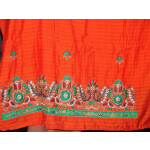 Partywear Cotton Hand Embroidered Punjabi Suit Dupatta set H0090