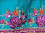 Partywear Cotton Hand Embroidered Punjabi Suit Dupatta set H0095
