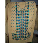 semi stitched cotton PHULKARI embroidered kurta kurti K0243