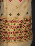 PHULKARI HAND EMBROIDERED Chanderi Fabric PARTY WEAR kurti K0293