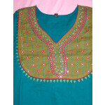 PURE COTTON hand embroidered kurta kurti K0300 size L