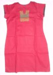 100% PURE COTTON hand embroidered kurta kurti K0303 size L