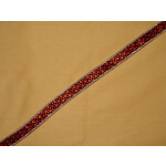 Velvet Print Gota Lace LC031 width 0.75 inch Roll of 9 mtrs.