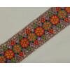 WIDE multicolour Embroidered Lace LC041 (per meter price)
