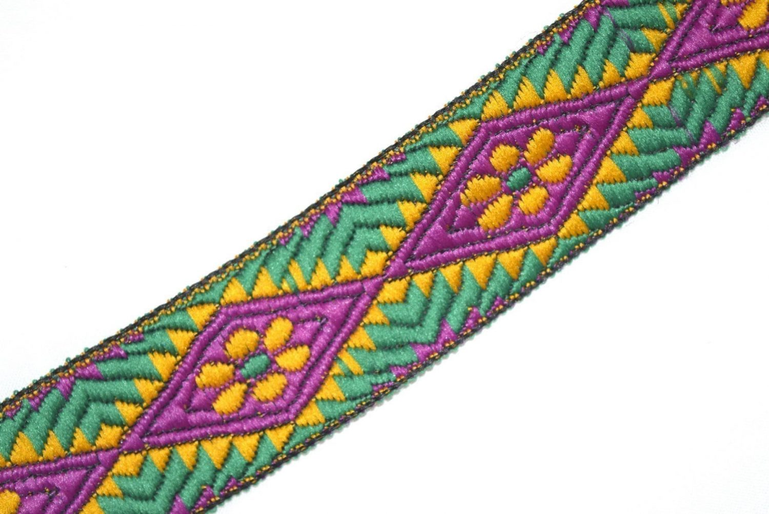 Multicolor Embroidered design Kinari Lace LC060 width 1.25 inch Roll of 9 meters 1