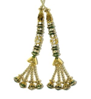 Latkans Dangles pair Multipurpose use for blouse, saree , dupatta, kurti, curtains LK024