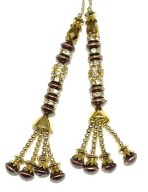 Latkans Dangles pair Multipurpose use for blouse, saree , dupatta, kurti, curtains LK026