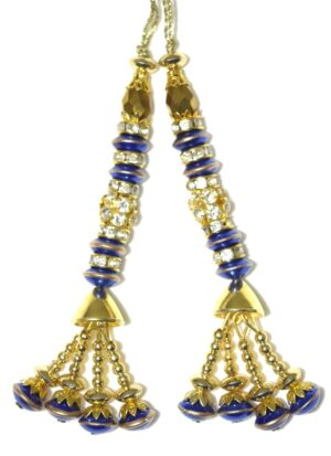Latkans Dangles pair Multipurpose use for blouse, saree , dupatta, kurti, curtains LK027