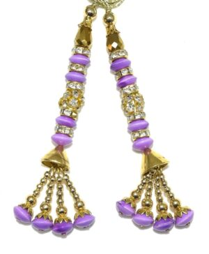 Latkans Dangles pair Multipurpose use for blouse, saree , dupatta, kurti, curtains LK028