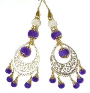LONG Latkans Dangles pair Multipurpose use for blouse, saree , dupatta, kurti, curtains LK030