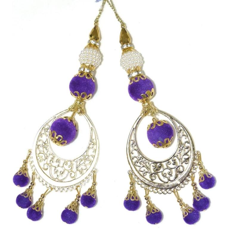 LONG Latkans Dangles pair Multipurpose use for blouse, saree , dupatta, kurti, curtains LK030