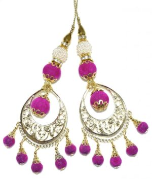 LONG Latkans Dangles pair Multipurpose use for blouse, saree , dupatta, kurti, curtains LK032