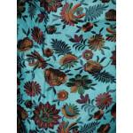 JAAL work embroidered ORGANDI Suit CHIFFON dupatta M0242