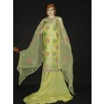 Chanderi Cotton Light Yellow m/c embr Salwar Suit M0292