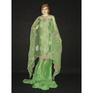 Chanderi Cotton Light Green m/c embr Salwar Suit M0293