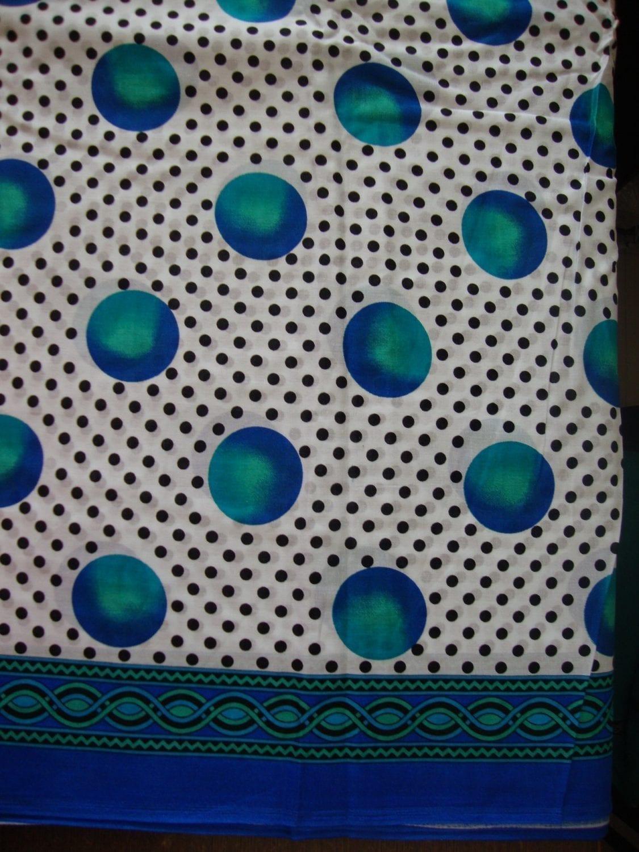 100% Soft PURE COTTON border design fabric for Kurti PC021 1
