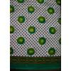 100% Soft PURE COTTON border design fabric for Kurti PC022