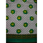 100% Soft PURE COTTON border design fabric for Kurti PC022
