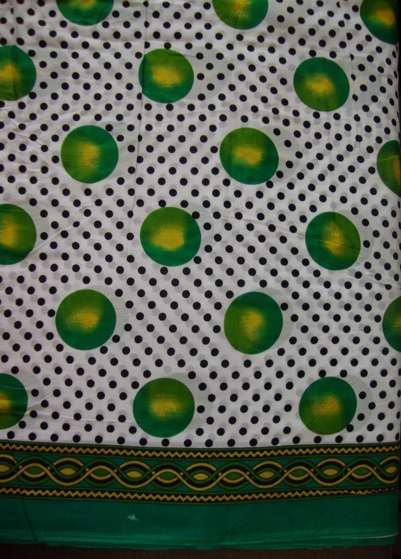 100% Soft PURE COTTON border design fabric for Kurti PC022 1