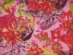 100% Soft PURE COTTON PRINTED fabric (per meter price)  PC072