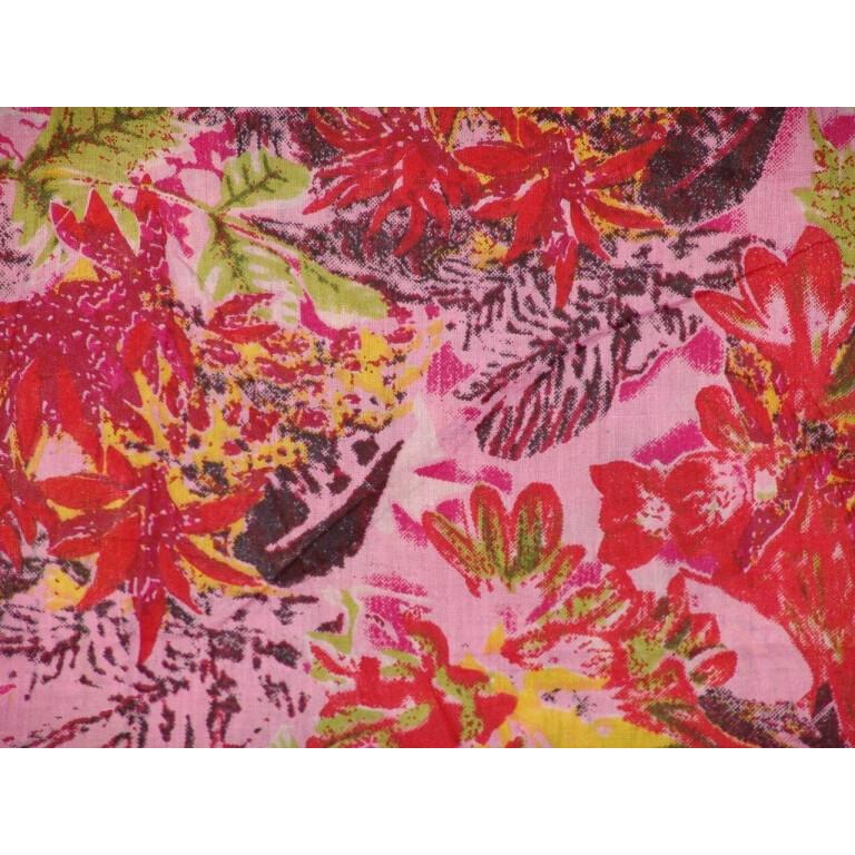 100% Soft PURE COTTON PRINTED fabric (per meter price)  PC072