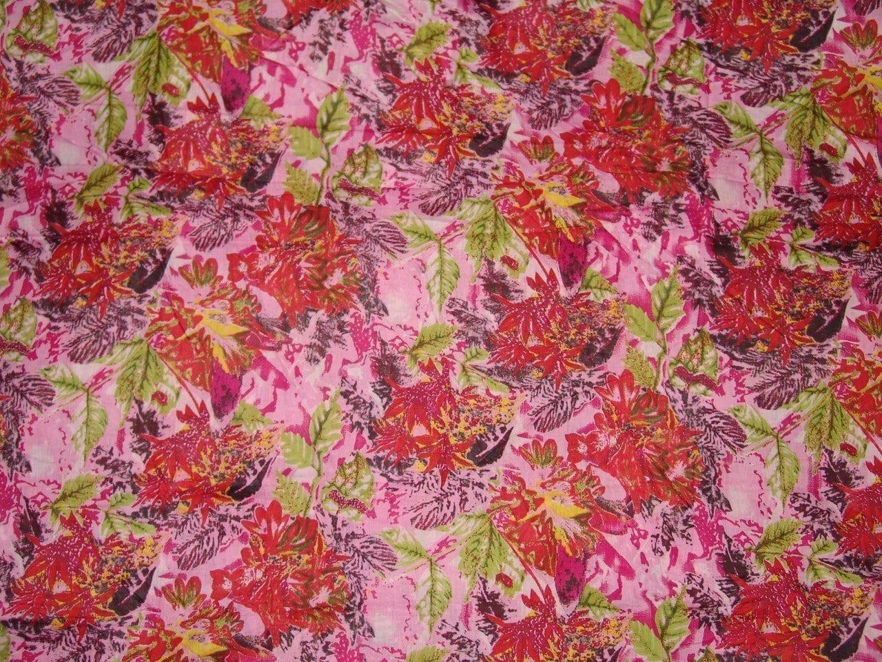 100% Soft PURE COTTON PRINTED fabric (per meter price)  PC072 2