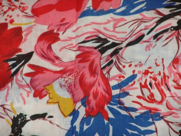 100% Soft PURE COTTON PRINTED fabric (per meter price)  PC077
