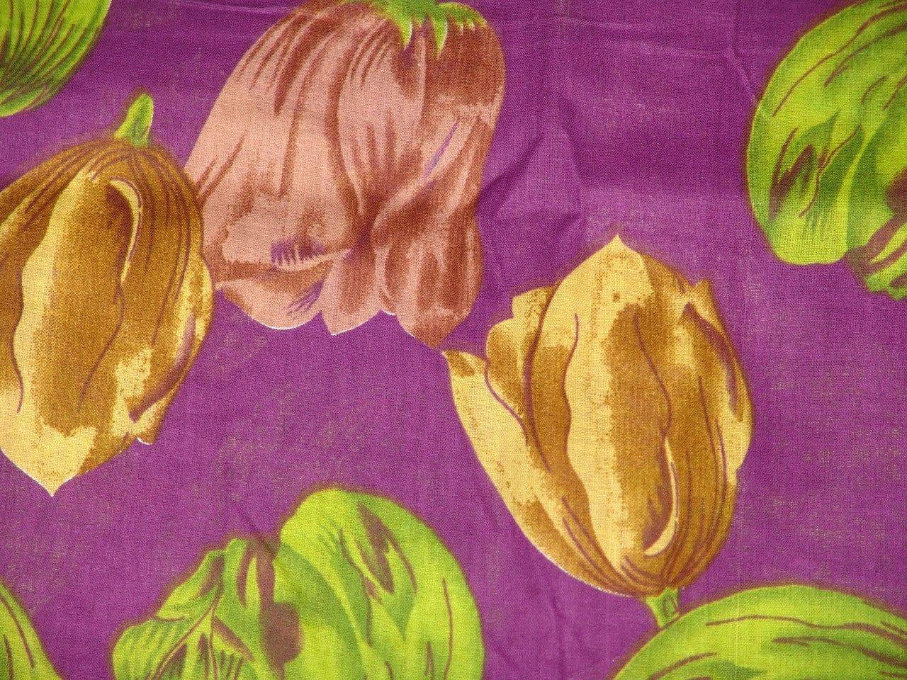 100% Soft PURE COTTON PRINTED fabric (per meter price)  PC082 1