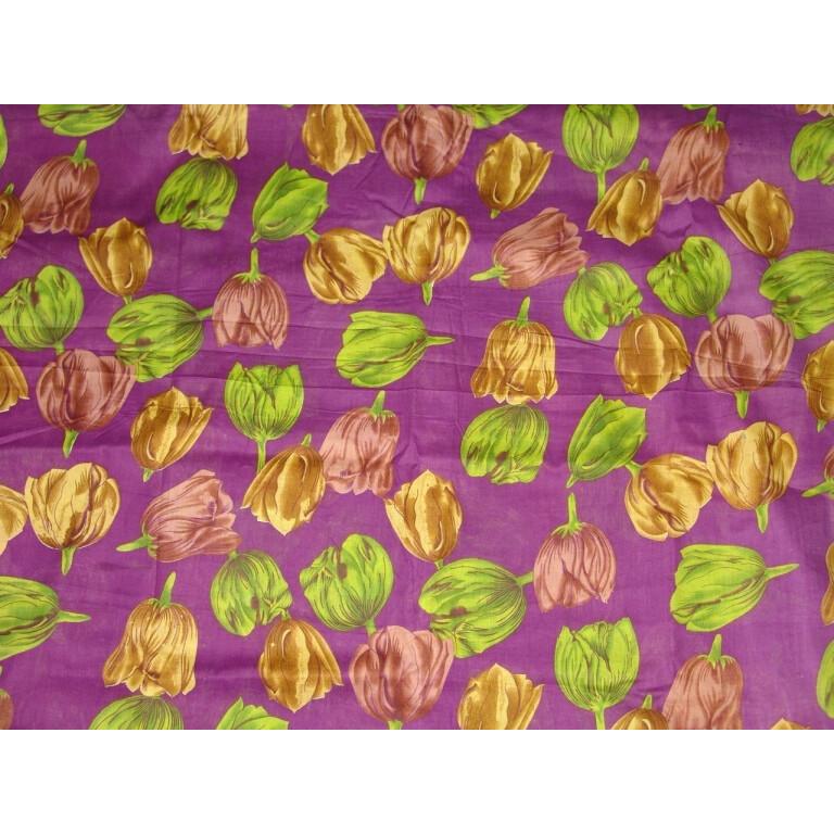 100% Soft PURE COTTON PRINTED fabric (per meter price)  PC082