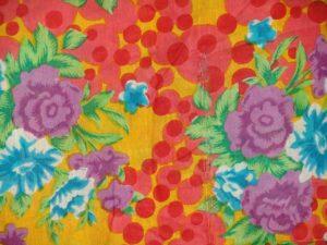 100% PURE Soft COTTON PRINTED fabric (per meter price) PC114