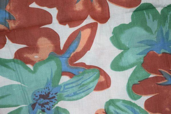 100% PURE Soft COTTON PRINTED fabric (per meter price)  PC132