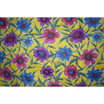 100% PURE Soft COTTON PRINTED fabric PC156