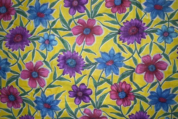 100% PURE Soft COTTON PRINTED fabric (per meter price)  PC156