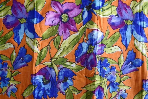 100% PURE Soft COTTON PRINTED fabric (per meter price)  PC177
