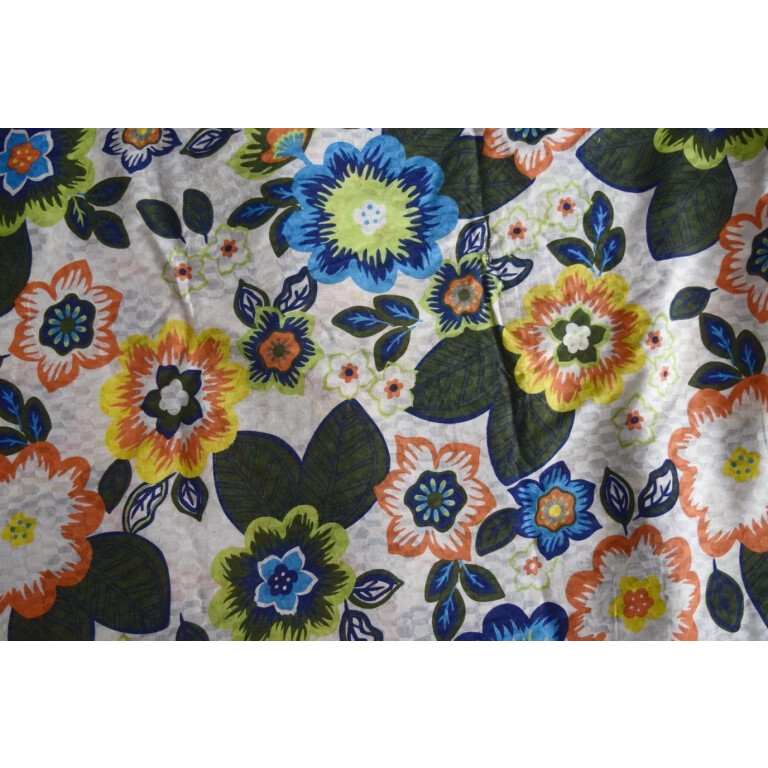 100% PURE Soft COTTON PRINTED fabric (per meter price)  PC179
