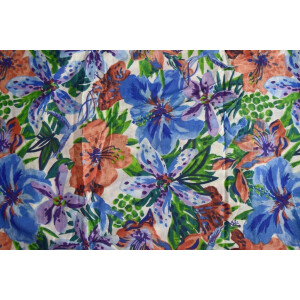 100% PURE Soft COTTON PRINTED fabric PC180