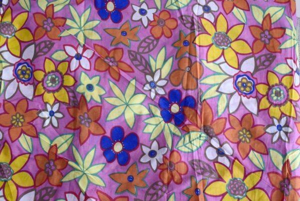 100% PURE Soft COTTON PRINTED fabric (per meter price)  PC183