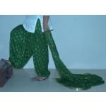 MEHENDI GREEN PHULKARI Patiala Salwar with matching Dupatta PHS11