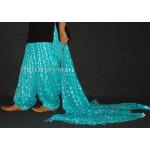 Light Blue Phulkari Patiala Salwar Dupatta PHS16