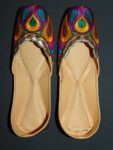 Thread Embroidered hand made Punjabi Jutti Party wear Shoes PJ9704