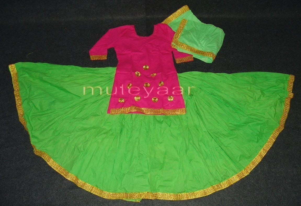 Parrot Magenta custom made GIDDHA  Costume outfit dance dress 1
