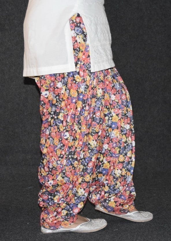 Limited Edition Printed HOSIERY Cotton Fabric Full Patiala Salwar PPS133 3