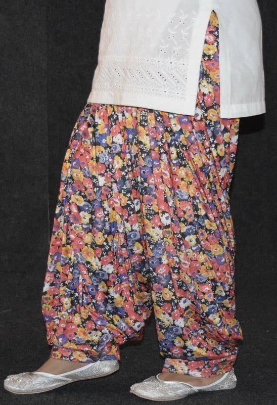 Limited Edition Printed HOSIERY Cotton Fabric Full Patiala Salwar PPS133 4
