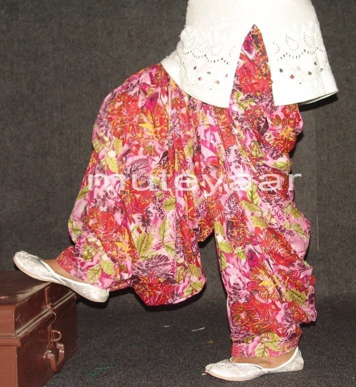 Limited Edition Printed 100%  Pure Cotton Patiala Salwar PPS79 1