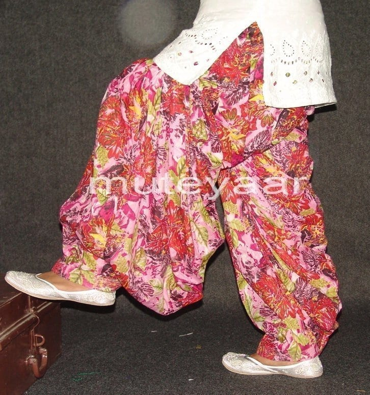 Limited Edition Printed 100%  Pure Cotton Patiala Salwar PPS79 2