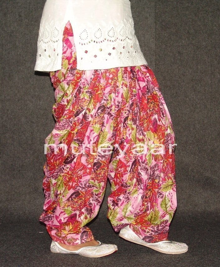 Limited Edition Printed 100%  Pure Cotton Patiala Salwar PPS79 3