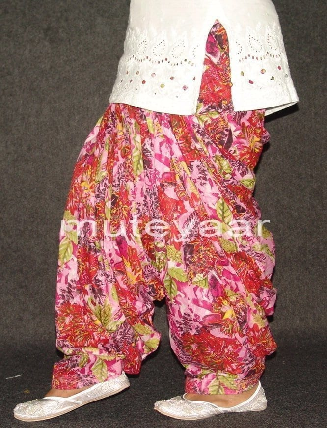 Limited Edition Printed 100%  Pure Cotton Patiala Salwar PPS79 4