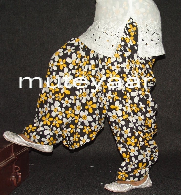 Limited Edition Printed 100%  Pure Cotton Patiala Salwar PPS84 1