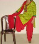 Pure Cotton Printed kameez with plain Salwar Dupatta PS002
