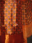 Pure Dupion Silk Printed Suit with Pure Chiffon Dupatta PS006
